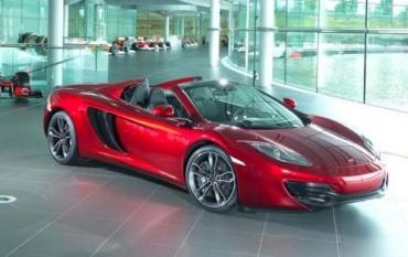 All I want for Christmas is a McLaren 12C Spider.