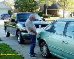 Wrong fluid in fuel tank