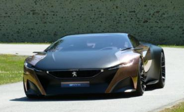 The Peugeot Onyx diesel-electric supercar will blast through Goodwood