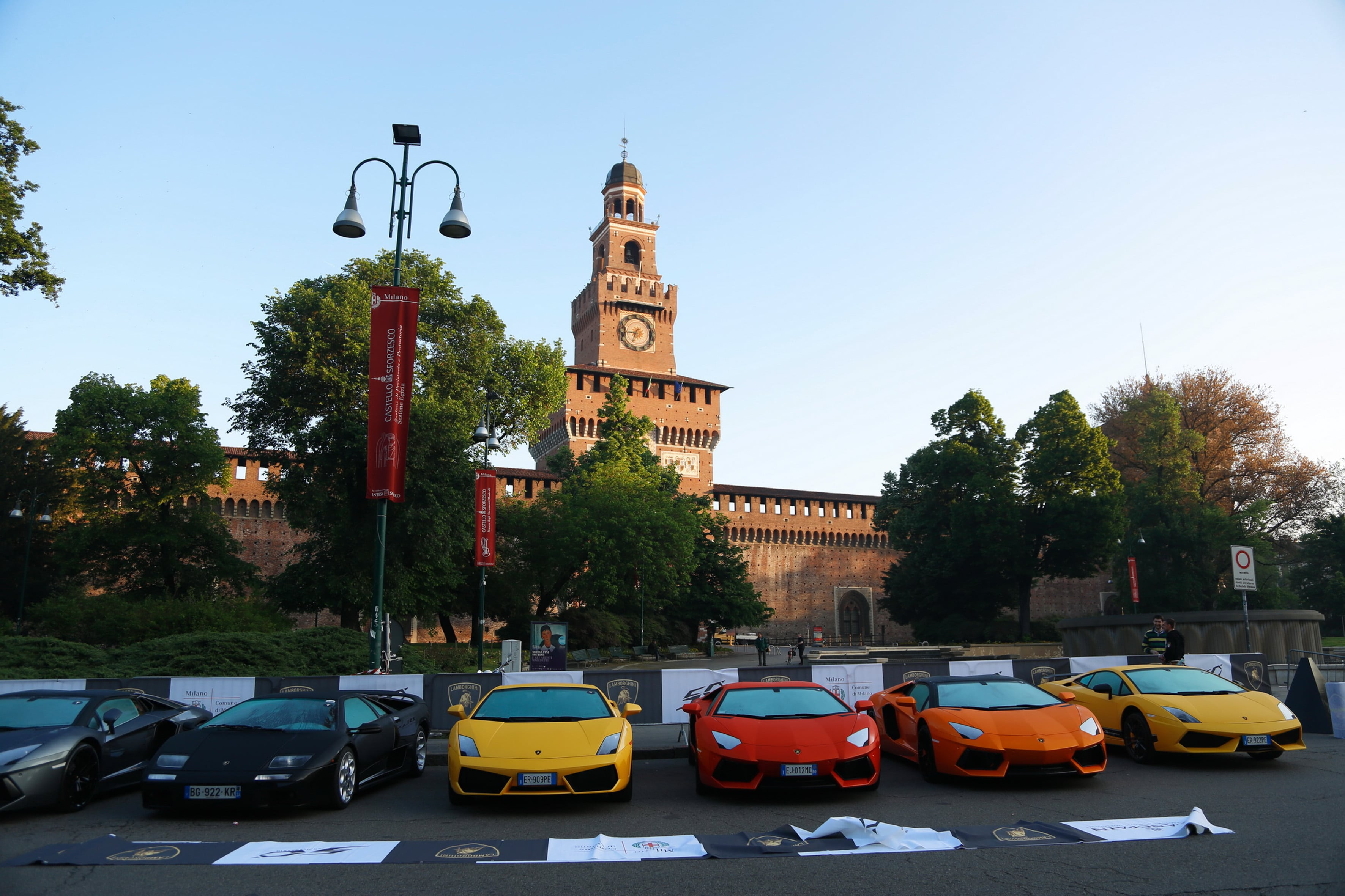 Lamborghini 50th Anniversary Grand Tour Begins – 350 Lambos Celebrating   CarNewsCafe.comCarNewsCafe.com