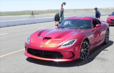 Day 2 on the Rocky Mountain Driving Experience – the race track in Viper / GT-R fueled adrenaline