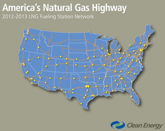 Pickens announces 'Natural Gas Highway' is now open across America [video]