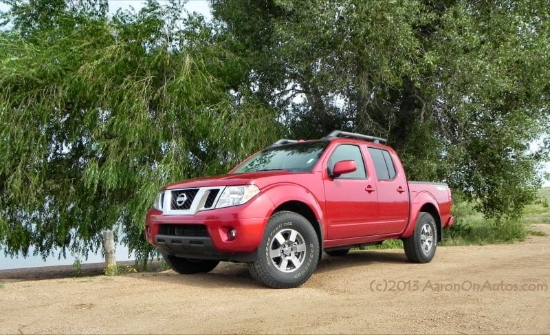 2013 Nissan Frontier Pro4X is an adventure machine fit for Wyoming