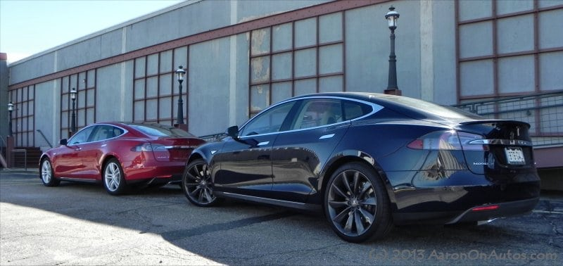 Tesla Model S first impression ride and drive for National Plug-In Day