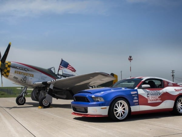 Wounded Warriors Mustang GT500 Super Snake on 2013 tour