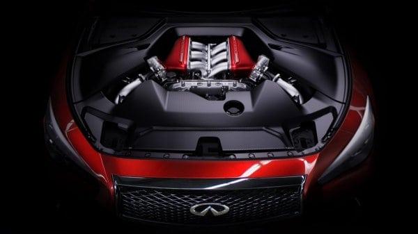 Infiniti unveils engine for Eau Rouge concept – it's a GT-R