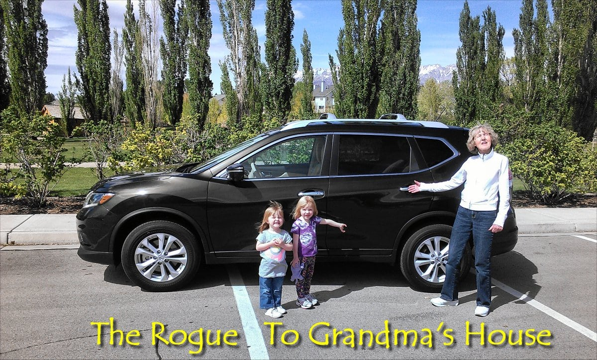 Taking the Nissan Rogue to grandma's house