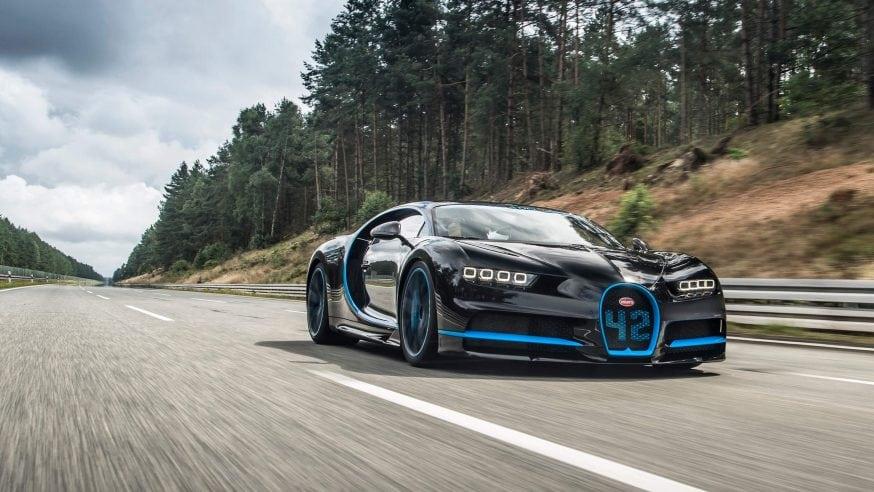 0-249 MPH and Back to Zero In 32.6 Seconds – Bugatti Chiron Sets New Record