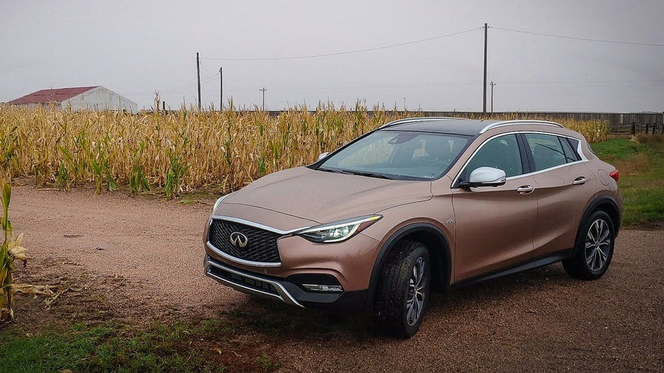 Review: 2018 Infiniti QX30 crossover scales down sportiness and luxury