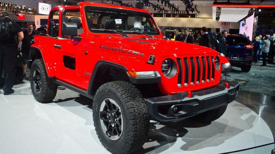 All-new 2018 Jeep Wrangler specs released at LA Auto Show ...