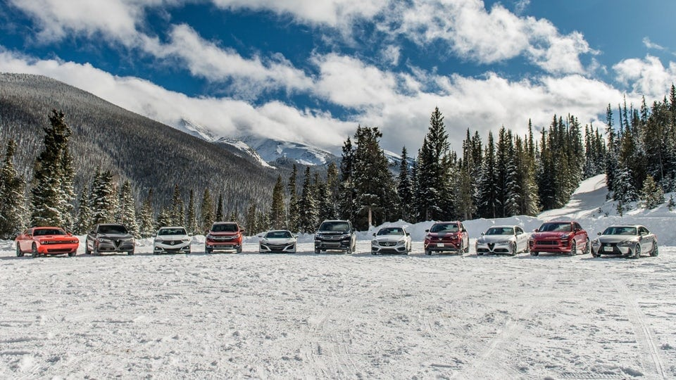 Turning up the heat at the 2018 Rocky Mountain Redline Ice Driving Adventure