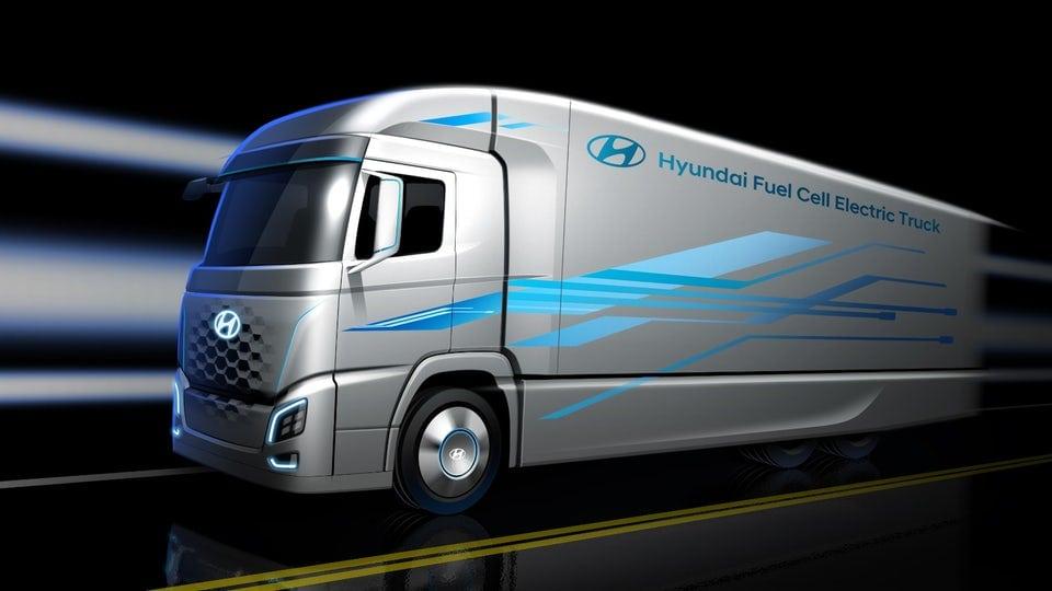 Hyundai teases fuel cell big rig concept ahead of IAA