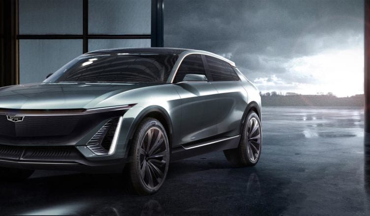 Cadillac Shows Off First EV, More to Come