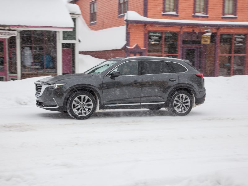 A Winter Road Trip in Wyoming with Three Kids and a Mazda