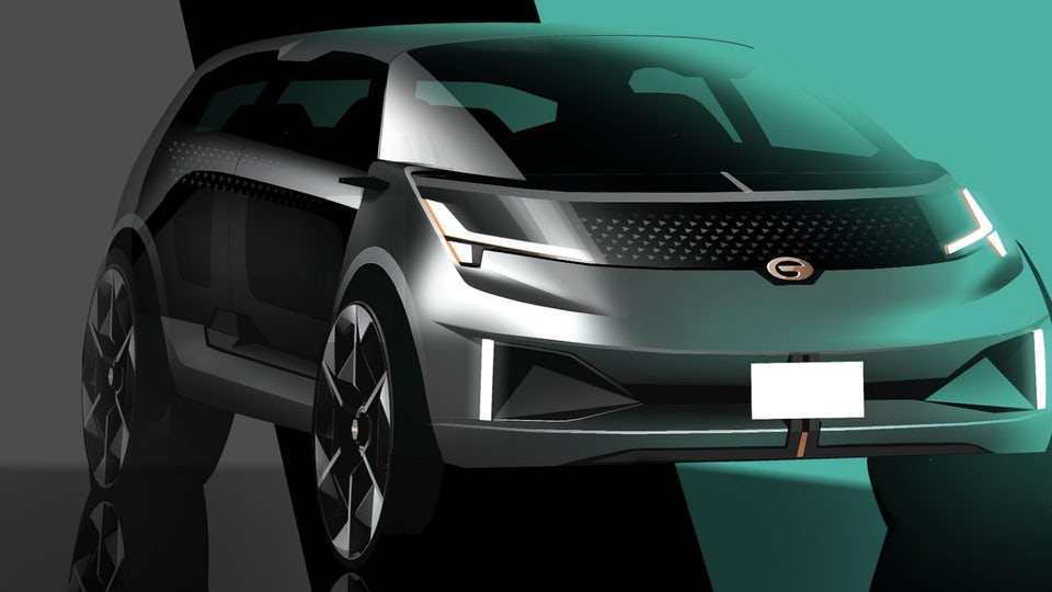 GAC Motor unveils Entranze EV concept SUV in Detroit