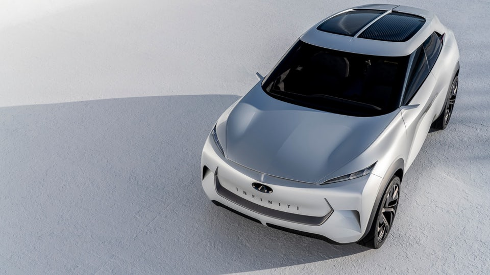 Infiniti surges forth with all-electric QX Inspiration