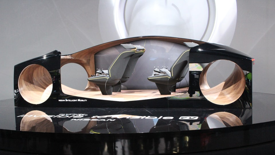 Nissan helps you see the invisible with new concept at CES