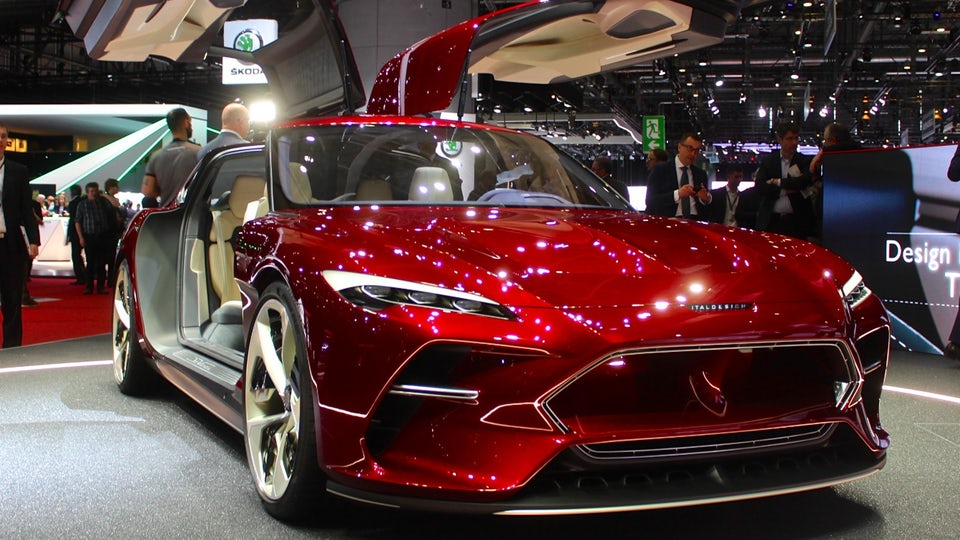 Italdesign blends science and art, with the DaVinci concept