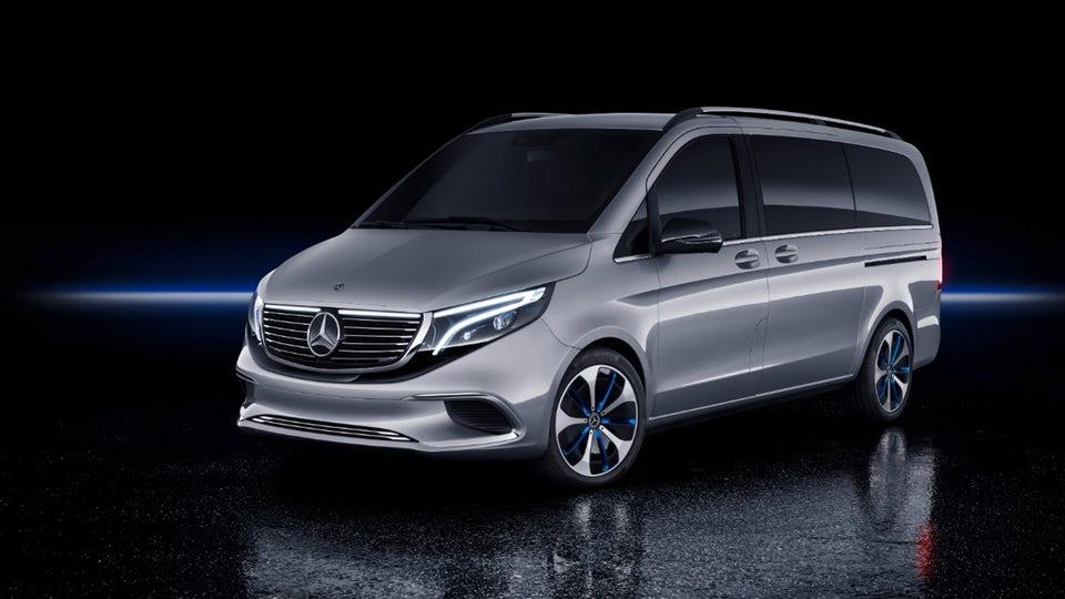 Mercedes premieres premium Concept EQV people mover
