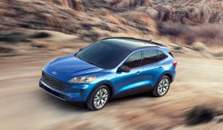 2020 Ford Escape Will Have Hybrid, Plug-in Variants