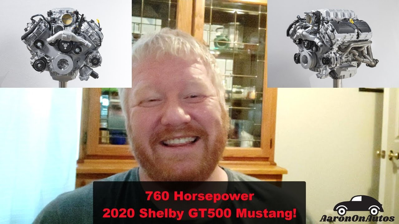 2020 Mustang Shelby GT500 With 760 HP! | Aaron on Autos