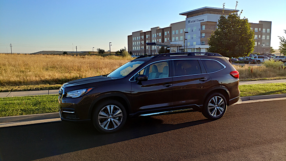Subaru Goes Three-Row With the Well-Done Ascent