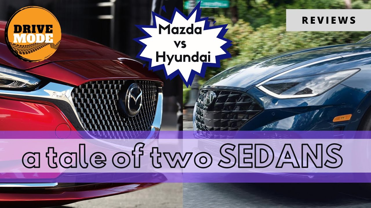 Comparison: Hyundai Sonata vs Mazda Mazda6