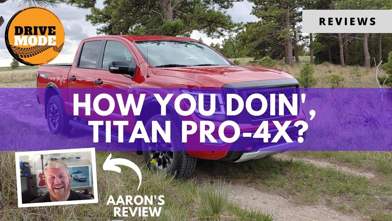 2020 Nissan Titan Pro 4X – a Much-Improved New Titan