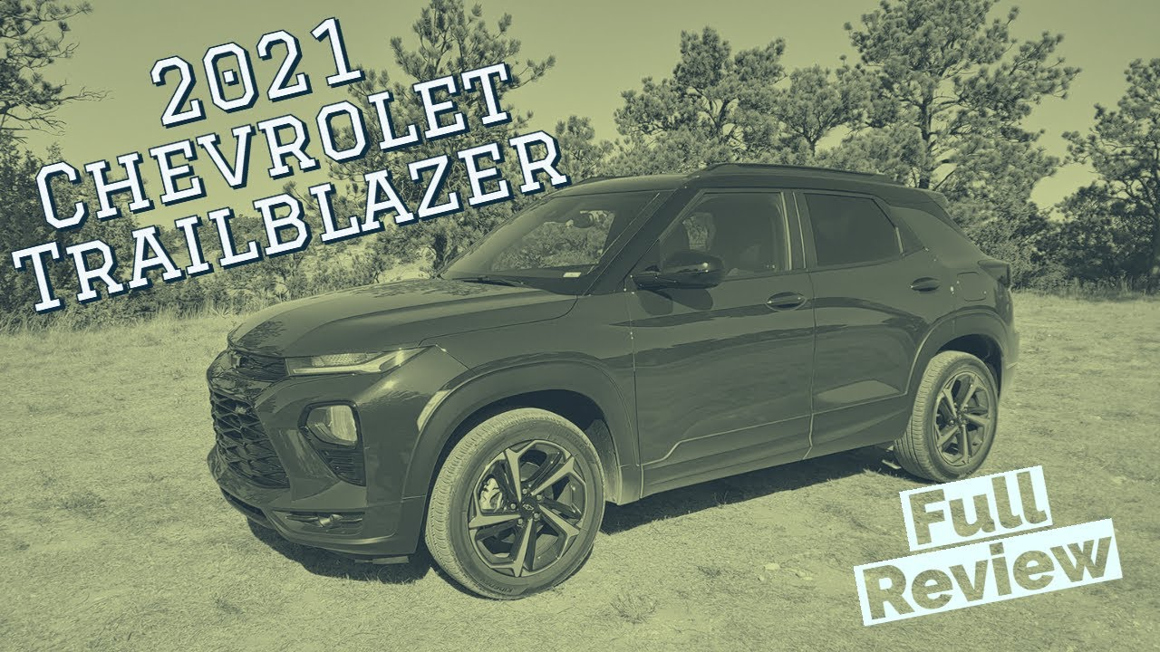 Review: 2021 Chevrolet Trailblazer RS is All-New and Well-Done