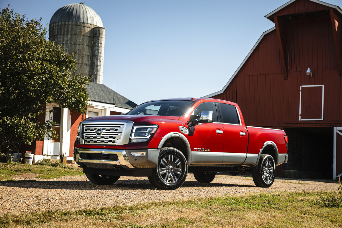 The 2020 Nissan Titan XD Wins The Award Of 'Most-Improved Truck'