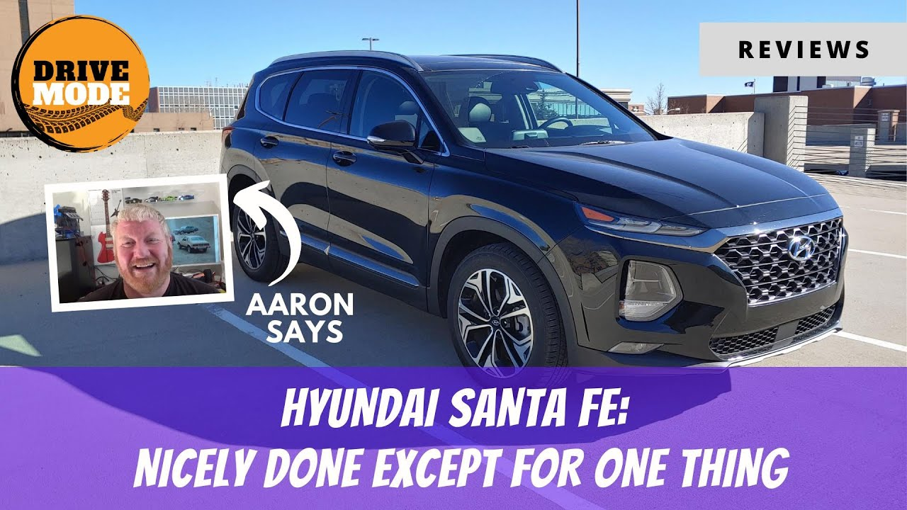 2020 Hyundai Santa Fe Review Reveals It's Nicely Done