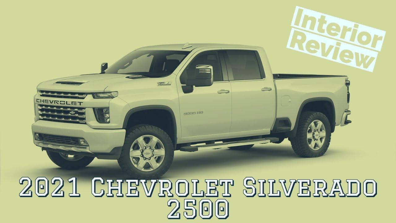 2021 Chevrolet Silverado 2500 interior walkthrough