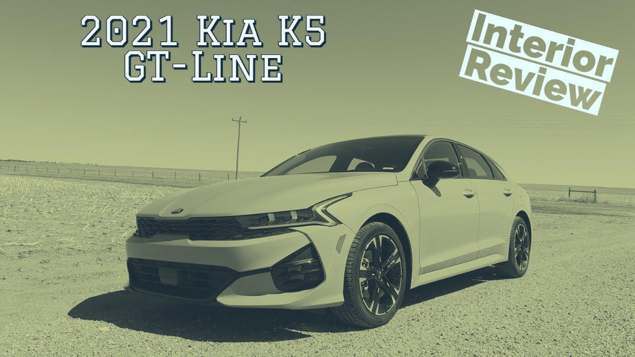 2021 Kia K5 Interior Walkthrough