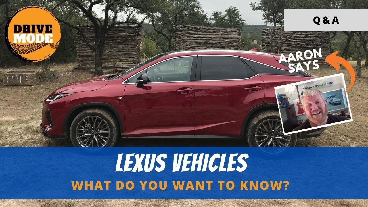 Q&A: What's the difference between the Lexus IS, ES, GS, and LS?