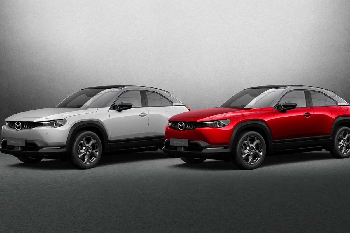 Mazda debuts all-electric MX-30 compact SUV, and rotary plug-in hybrid