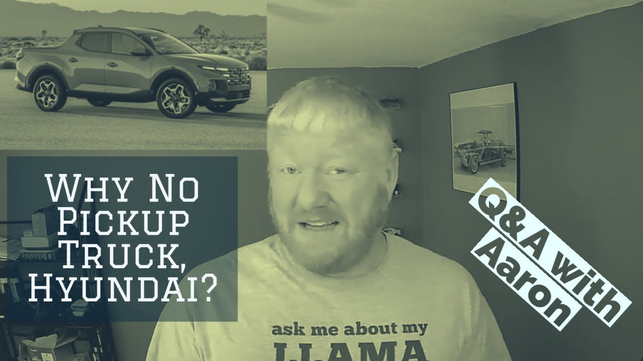 Q&A: Why Doesn't Hyundai Have A Pickup Truck?