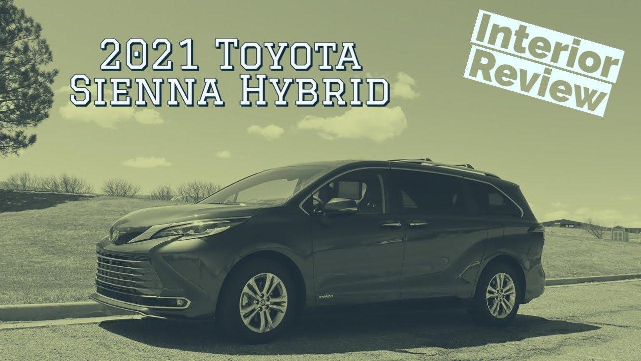 2021 Toyota Sienna Hybrid interior walkthrough