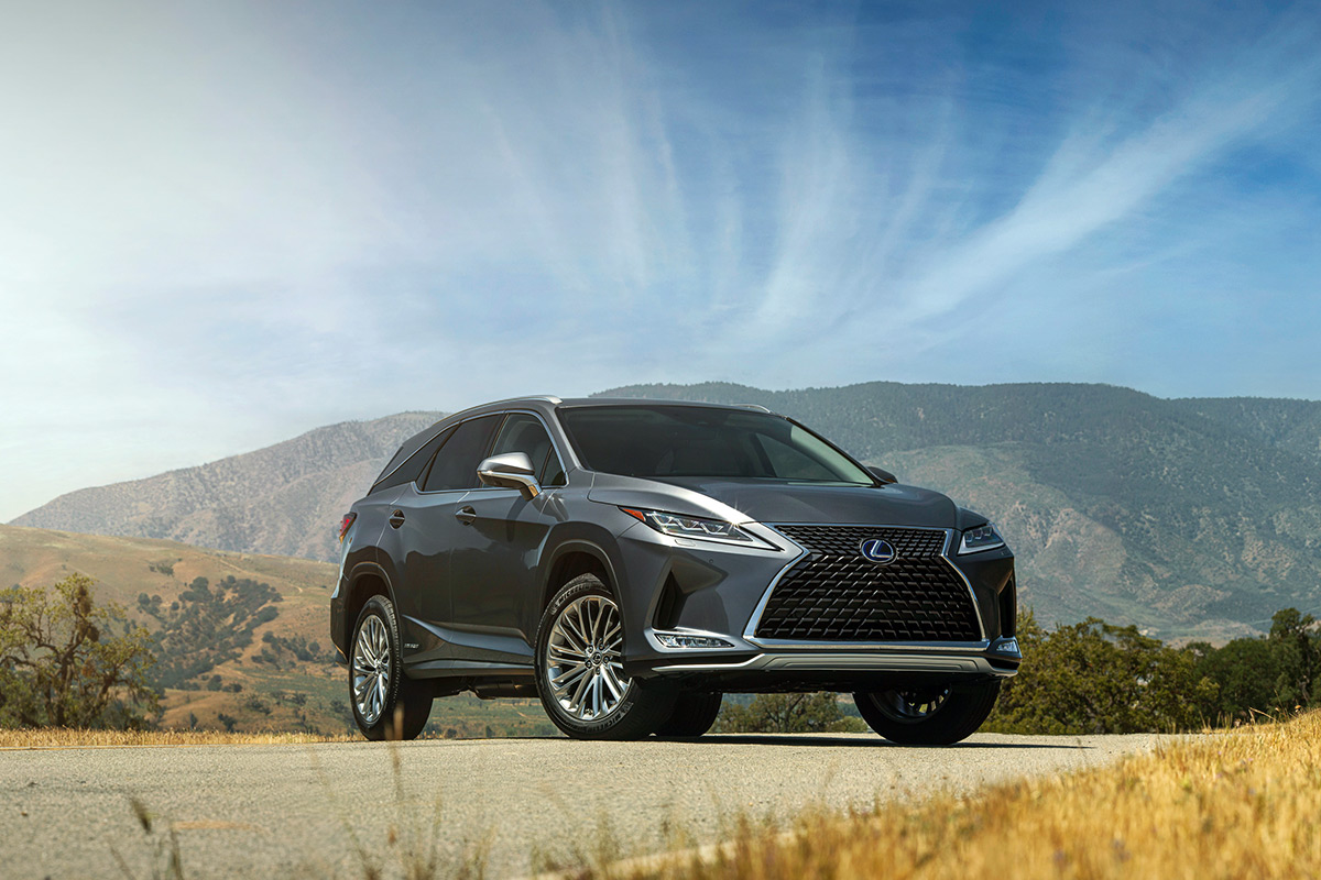 The 2021 Lexus RX 450h Hybrid Model Is Well Worth The Extra $4K